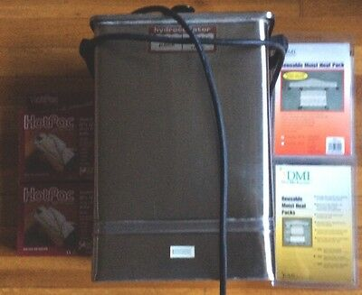 CHATTANOOGA E-1 HYDROCOLLATOR HOT PACK HEATER With Packs. Last One.