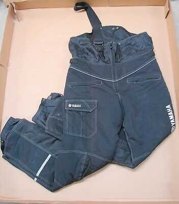 Yamaha Snowmobile Bibs Snow Pants Mens Black XLT Extra Large Tall (As Is)