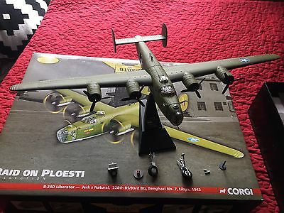 Corgi Aviation Archive 1:72 scale Consolidated Liberator B24-D Jerk s Natural