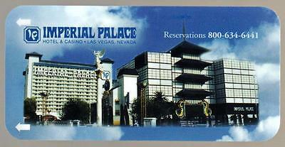 IMPERIAL PALACE CASINO long gone #3* Las Vegas hotel key card*Free fast Shipping