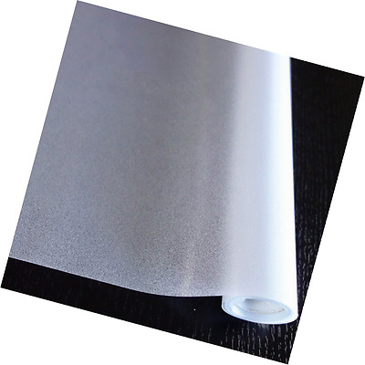 HXSS Frosted Privacy PVC Static Cling Window Glass Film for Bedroom,Office,Kitch