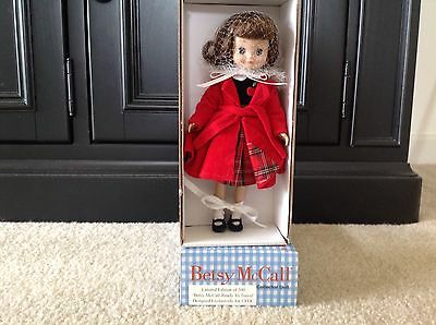 """Tonner 2000 8"""" Betsy  Mccall """" Ready To Travel"""" Doll  Le500 Mib"""