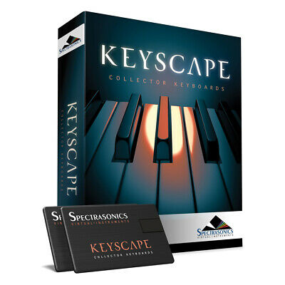 Spectrasonics Keyscape Keyboard & Piano Virtual Instrument Software + USB Drives