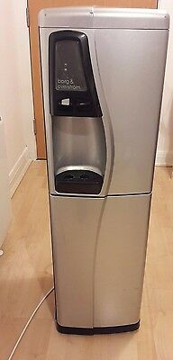 Borg and Overstrom CW698 FREE-STANDING WATER COOLER IN SILVER