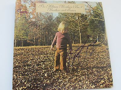 Allman Brothers Signed Brothers And Sisters Lp Gregg Allman Butch Trucks Jaimoe