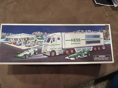 2003 Hess Toy Truck and Race-cars New in Box