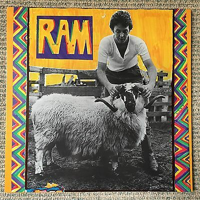 Paul & Linda McCartney (Beatles) - RAM - Scarce 1971 UK 12 track vinyl LP