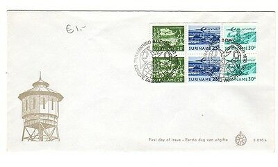 SURINAME 1976 FDC First Day Cover  #2