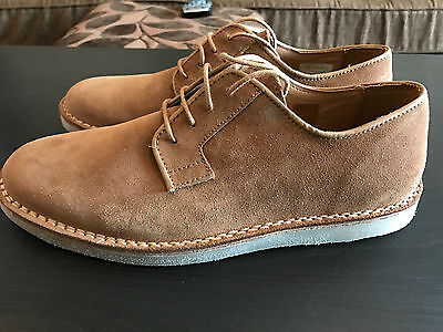 Momentum Tan Suede Shoes (New in Box) Size 9