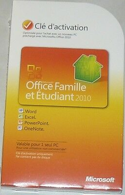 Microsoft Office 2010 Home And Student Activation key