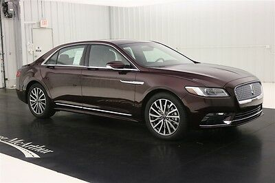 2017 Lincoln Continental SELECT AWD SEDAN NAV SUNROOF LEATHER MSRP $57320 NAVIGATION TWIN PANEL MOONROOF REVEL AUDIO SYSTEM REMOTE START REAR VIEW CAMERA