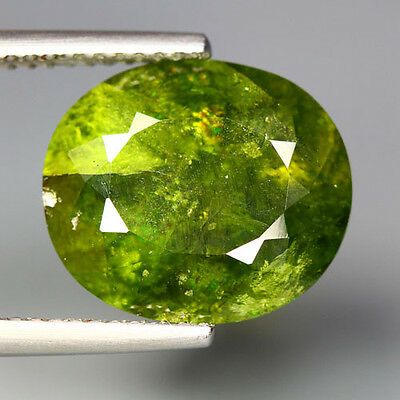 8.30 Cts_Amazing Rare Stone_100 % Natural Hydro Grossular Green Garnet_Africa