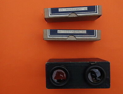 Superb Box Of Ss Normandie Stereo Films Negatives Various Cabin Classes Ect