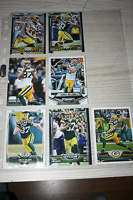 "NFL Cards Panini Topps Donruss ""7x Jordy Nelson - Green Bay Packers"""