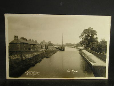 Lot 464 Canal Photo Postcard J Chapman at Stainforth North Yorks