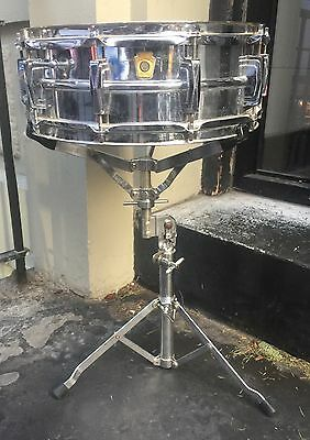 Vintage 60s Pre-Serial Ludwig Ludalloy Shell Supraphonic Snare Drum