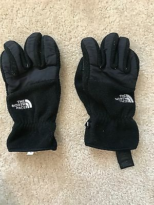 The North Face, Black Winter Gloves; Men's Size L