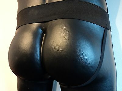 Genuine Leather Men's Jockstrap Various Colours And Sizes Gay Interest Bar Kink