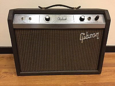 Gibson Skylark Vintage Usa made tube amp 1963