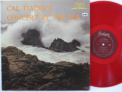 CAL TJADER LP, CONCERT BY THE SEA (FANTASY US Issue EX/VG)