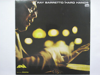 RAY BARRETTO LP, HARD HANDS (FANIA US Issue NM/NM)
