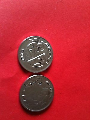 2 Revenge of the Sith Star Wars coins set 4