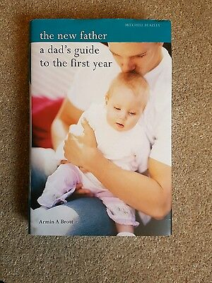 A dads guide to the first year hard back baby book