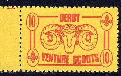 Scout Stamps 1994 Derby Venture Scouts UM