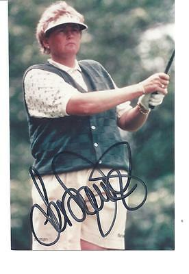 LAURA DAVIES- Great Female English Professional Golfer -Signed pic
