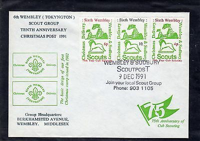 Scout Stamps 1991 Wembley & Sudbury  FDC