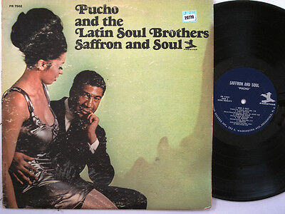PUCHO & THE LATIN SOUL BROTHERS LP, SAFFRON AND SOUL (PRESTIGE US Issue G/EX)