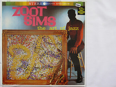 ZOOT SIMS LP, THE ART OF JAZZ (SEECO US Issue NM/NM)