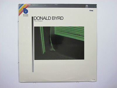 DONALD BYRD LP, THE CREEPER (BLUE NOTE US Issue NM/NM)