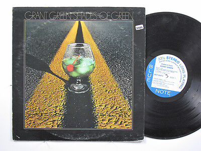 GRANT GREEN LP, SHADES OF GREEN (BLUE NOTE US Issue EX/EX)
