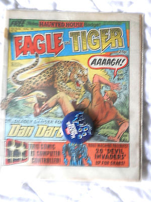 EAGLE and TIGER No 164 with free gift (1985)