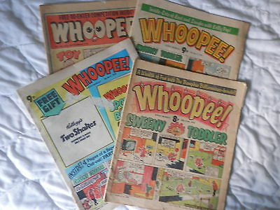 WHIZZER and CHIPS comic library 3 issues Nos 2,3 and 4 (1985)