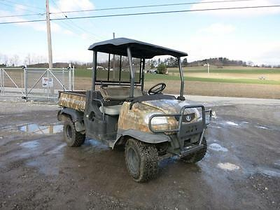 2008 Kubota RTV900 Utility Vehicle, 1102 Hours, 4x4, 21 HP Diesel Engine, Camo