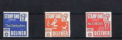 Scout Stamps 1999 Derby Venture Scouts  UM