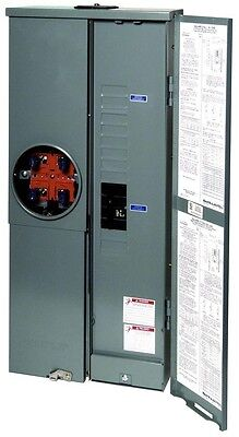 Square D 200 Amp 8 16 Circuit Outdoor Main Breaker Service Entrance Electrical