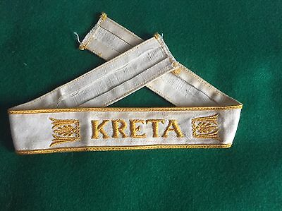 WW2 German KRETA Cuff Title