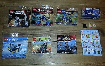 LEGO Polybag Collection 30276,30292,30346,30371,30260,Winter Soldier,Millhouse