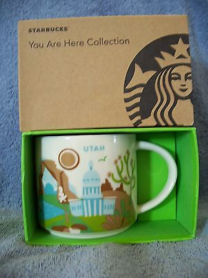 Starbucks Coffee Mug  (New) UTAH You are here Collection Mugs