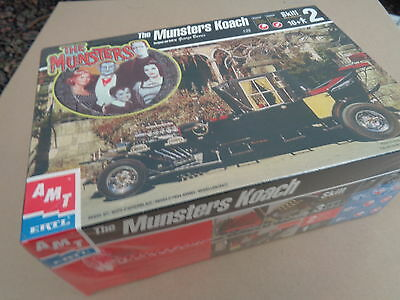The Munsters  Koach  Amt George Barris  Monsters  Mint Sealed  Hot Rod