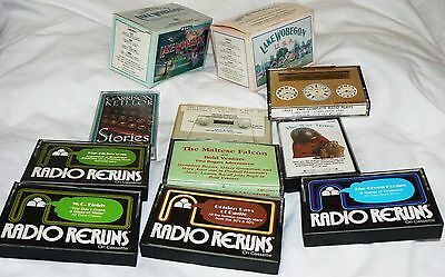 19 Audio Cassette tapes: Garrison Keillor, other radio plays, shows: Amos & Andy