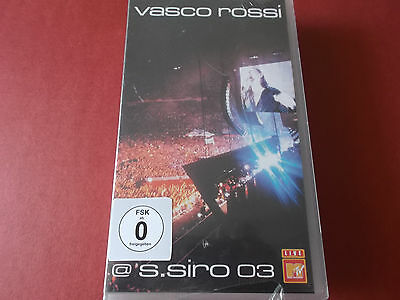 Vasco Rossi @ S.siro 03: Vhs Video: 2003: Neu!