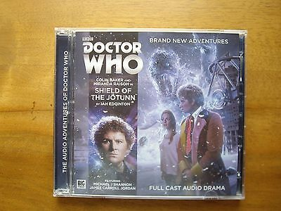 Doctor Who Shield of the Jotunn, 2015 Big Finish audio book CD