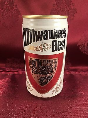 MILWAUKEE'S BEST 12 oz Beer Can by A Gettelman Brewery Company 1975