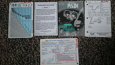 Padi Recreational Dive Planner Vgc With Instructions