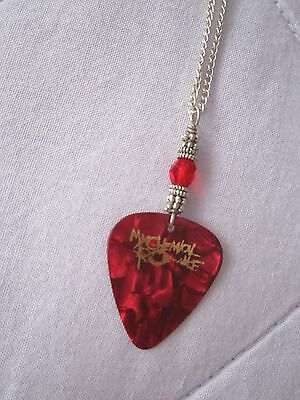 My Chemical Romance Guitar Pick Necklace