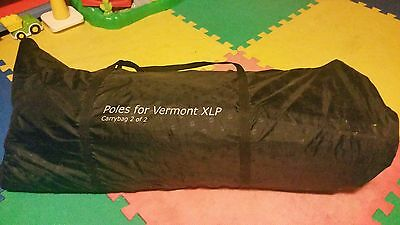 Outwell Vermont XLP Poles (Full set) and bag